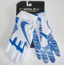 Nike VAPOR JET 4 Receiver Gloves BLUE GF0572 106 Adult Size LARGE Fast Ship