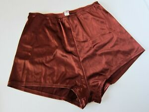 Victoria's Secret VINTAGE Second Skin Satin Brief Bun Pant Shorts Panties LARGE