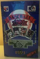 1989 Upper Deck Baseball Card - Low Series Foil Box - BBCE Authenticated (FASC)