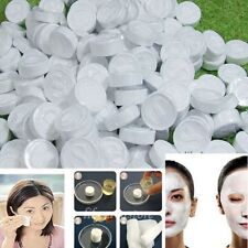 Convenient 100pcs DIY Compressed Facial Face Cotton Mask Sheet Natural Skin Care