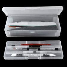 Transparent Double-layer Nail Art Pen Storage Box Manicure Tool Organizer Fashio
