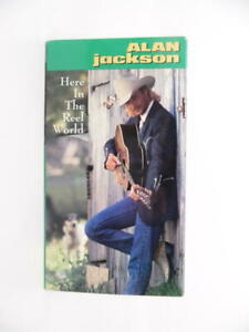Alan Jackson: Here in the Reel World [VHS] by 6 West 1990