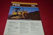 Fiat Allis FD9 Dozer Crawler Tractor Dealer's Brochure DCPA6 Ver3