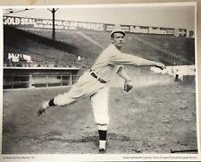 "11""x14"" B/W PHOTO: ""SMOKEY"" JOE WOOD OF BOSTON RED SOX, 1913, FENWAY PARK. AS-IS"