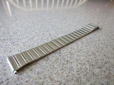 Speidel Polished Bar Pattern SS 18-22mm Self Adjust Straight ends Watch Band P75