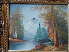 Künstlerische Malereien der 1950-1999er Holz-Öl