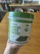 Bare Raw Organic Marine Super Greens Blend Kelp Chlorella Spirulina Powder 8oz -