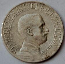 1 Lira 1912 Italy, Vittorio Emanuele III, Quadriga, Silver coin