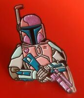 Star Wars Pin Boba Fett Pastel Movie Enamel Metal Brooch Badge Lapel Cosplay