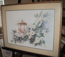 Donna Peters Signed Limited Edition 286/500 Framed and Double Matted