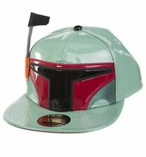 Cappello Star Wars Boba Fett with antenna Snapback Cap Hat Bioworld Disney