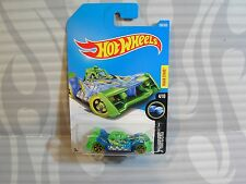 2017 HOT WHEELS ''X-RAYCERS'' #296 = VOLTAGE SPIKE = GREEN & BLUE   int