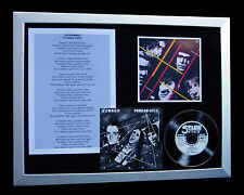 THE DAMNED Problem Child PUNK CD TOP QUALITY FRAMED DISPLAY+EXPRESS GLOBAL SHIP