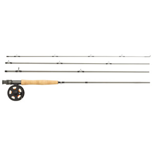 Greys K4ST Trout 9' #5 Fly Fishing Combo - Rod, Reel, Line and Carry Case