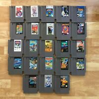 Lot of 23 Nintendo Entertainment System NES Games | Great Condition | Used | C01