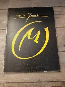 Jacobs,Blake&Mortimer-T.L-Grand format-La marque Jaune-Numéroté-800 exempl.1977
