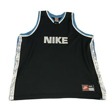Real Vintage Nike Basketball Jersey - Teal White and Black Men's Xxl Sportswear