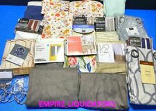 New listing Linen'S - Bunch Of Curtain Panels, Twin Sheets, Oblong Table Cloth, Curtain Ring