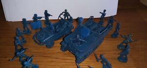 Lot soldats anciens atlantic véhicules allemands ww2 figurines 1/72 vintage