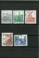DDR - Dauerserie - Landschaften 1961 - Gestempelt - Mi.-Nr. 835-837 / 815,816