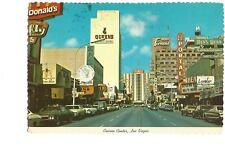 Postcard Casino Center Fremont Street Las Vegas Nevada USA   (B4d)