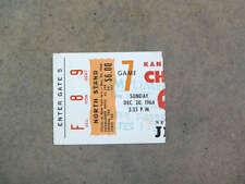 KANSAS CITY CHIEFS NEW YORK JETS AFL Ticket - 1964