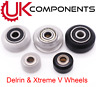 V SLOT SOLID V WHEELS XTREME / DELRIN / DUAL / MINI 3D PRINTER CNC REPRAP CR10