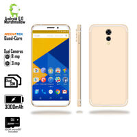 "Indigi Gold 4G LTE GSM Unlocked 5.6"" Smart Phone Android 6.0MM ~Free 32GB mSD~"