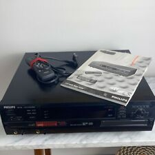 Philips CDR 785 3 + 1 CD Changer Player Recorder/Burner REMOTE & MANUAL UNTESTED