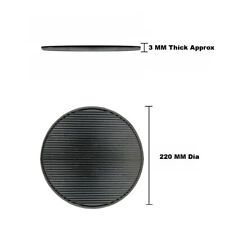 More details for anti vibration rubber mat dia 220 mm service catering beer drink bar pub mat