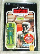 Vintage Star Wars 1982 Kenner CAS 80 2-1B ESB 47 BACK CARD MOC UNPUNCHED NOT AFA