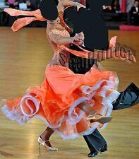 C3463 Women Ballroom Tango Waltz Salsa swing dance competition dress Tailor made