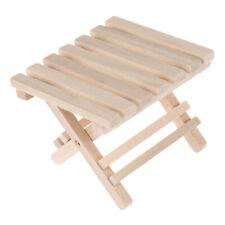1:12 Dollhouse en miniatura muebles de playa mesa plegable para niños jugue_ws