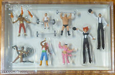 Preiser HO #24656 Circus Figures -- Sideshow Performers (Hand Painted)