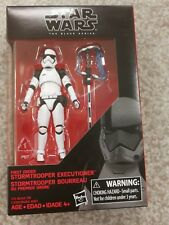 Star Wars The Last Jedi Black Series First Order Stormtrooper Executioner 3.75in