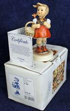 MJ Hummel 'Little Shopper' #910 Hum 96 TMK7 1992 4.5-inch Figurine