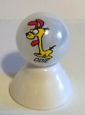 ODIE FROM GARFIELD CARTOON CHARACTER ON WHITE PEARL MARBLE