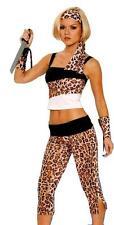 Safari Princess Jungle Sexy Cavewoman Adult Ladies Costume XL