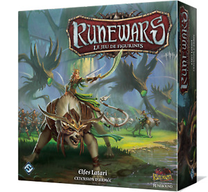Runewars - Armée Elfes Latari - VF Proxy warhammer D&D Kings of war