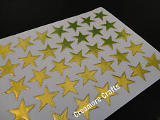 100 GOLD STARS SCHOOL TEACHER OFFICE MERIT REWARD STICKERS SELF ADHESIVE