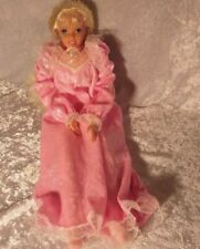 "PRETTY DREAM BARBIE 18 "" Inch Plush SOFT BODY  Big Doll Pink Nightgown 1995"