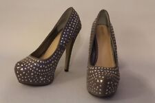Stiletto shoes size 40 by Dune colour Grey/ Brown