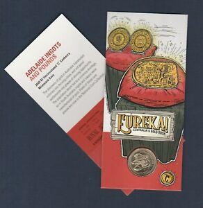 """2020 Eureka $1 Gold Rush - 'Adelaide Ingots & Pounds'-  $1 """"C"""" mintmark  .. ..Q"""