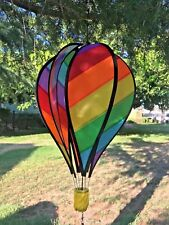 "18""Heavy Duty Panel Hot Air Balloon Wind Spinner"
