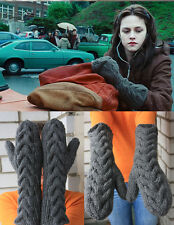 Bella Swan s Mittens from The Twilight not Mohair hand knitting gloves size M