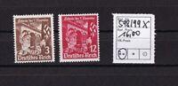 Deutsches Reich  .....   Michel Nr.  598x - 599x    ....  postfrisch