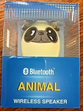 Thumb-sized Animal bluetooth wireless speaker with selfie Music animal DOG
