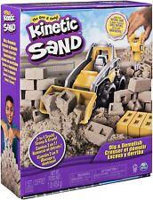 🚛Fast Shipping! {New} Kinetic Sand Dig & Demolish Truck Playset