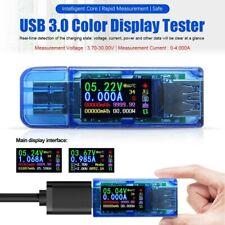 USB Detector Power Bank LCD Multimeter Voltage Current Meter Tester Ammeter #
