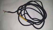 VINTAGE 6 Wire Telephone Phone Line Cord NSN black